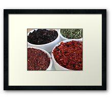 Spices - Istanbul, Turkey Framed Print