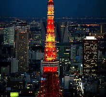 Tokyo Tower by werxj