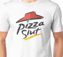 Pizza Slut Hut Fast Food Parody Unisex T-Shirt