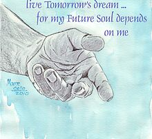 Affirmation for MY FUTURE by Maree  Clarkson