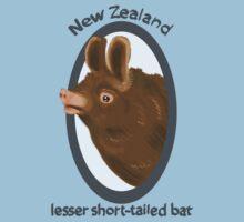 New Zealand lesser short-tailed bat Baby Tee