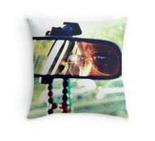 The Peace in the Back Seat Throw Pillow