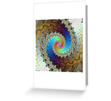Winter Colors Greeting Card