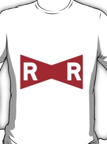 red ribbon logo T-Shirt
