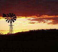 Coranning Windmill by Adrianne Yzerman