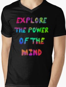 Explore The Power Of The Mind Mens V-Neck T-Shirt