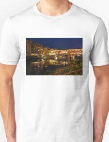 Impressions Of Florence - Ponte Vecchio Evening T-Shirt