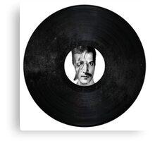 Legends Of Vinyl Canvas Print