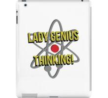 Lady Genius Thinking iPad Case/Skin
