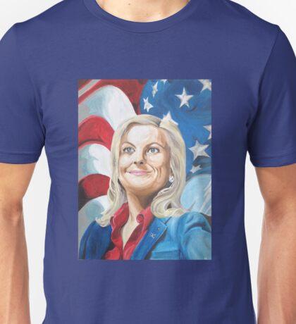 Fictional American Leslie Knope Parks & Recreation Fanart Unisex T-Shirt
