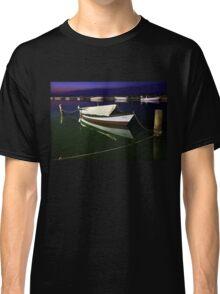 Fishing boat at Lefkada island Classic T-Shirt