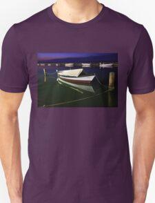 Fishing boat at Lefkada island Unisex T-Shirt