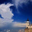 The lighthouse of Agia Mavra - Lefkada island by Hercules Milas