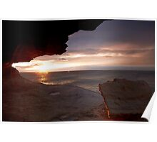 Cave View II - Maroubra Poster
