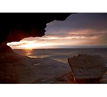 Cave View II - Maroubra Photographic Print