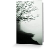 Forgetful Shores Greeting Card
