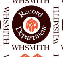 WH Smith Records Sticker