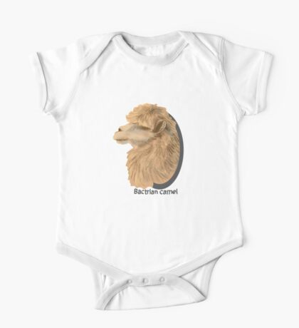 Bactrian Camel One Piece - Short Sleeve