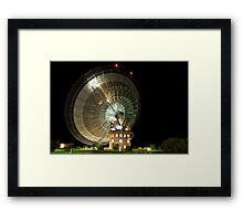Parkes Dish at Night Framed Print