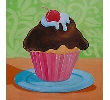 Cupcake 2 Photographic Print