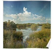 sea flood ponds Poster