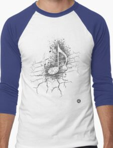 Cracked notes Men's Baseball ¾ T-Shirt