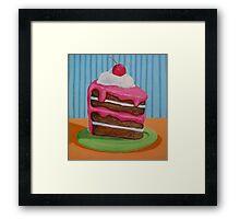 Cake slice 1 Framed Print