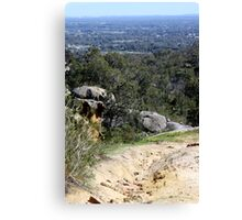Perfect View from Perth Hills Canvas Print