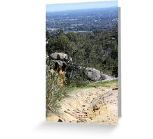 Perfect View from Perth Hills Greeting Card