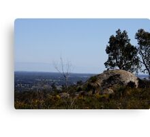 Perfect View from Perth Hills 2 Canvas Print
