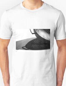 Kitchen Colander Shadows & Light Unisex T-Shirt