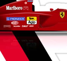Jean Alesi - Ferrari 412T2 1995 Sticker