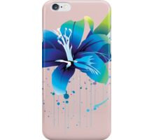 Colourful Flower Vector iPhone Case/Skin