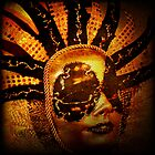 Golden Mask by Deb Gibbons
