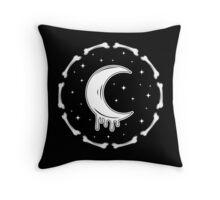 Bleeding Moon Throw Pillow