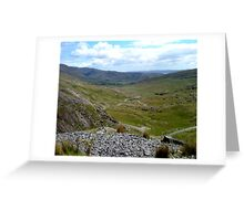 The Healy Pass.. Co. Cork, Ireland... Greeting Card