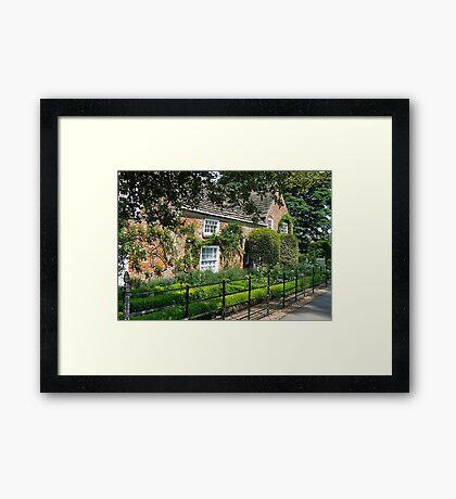 Shandy Hall Framed Print