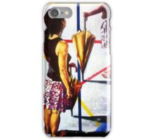 Beauty, colors and umbrellas iPhone Case/Skin
