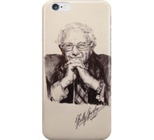 Bernie Sanders Portrait  iPhone Case/Skin