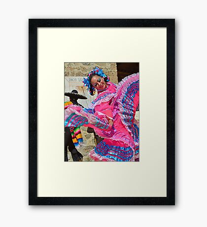Mexican Dancer Framed Print
