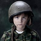 The anonymous soldier boy by Mark Skay