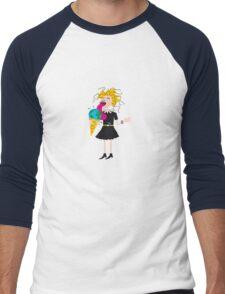 Love the world! Men's Baseball ¾ T-Shirt