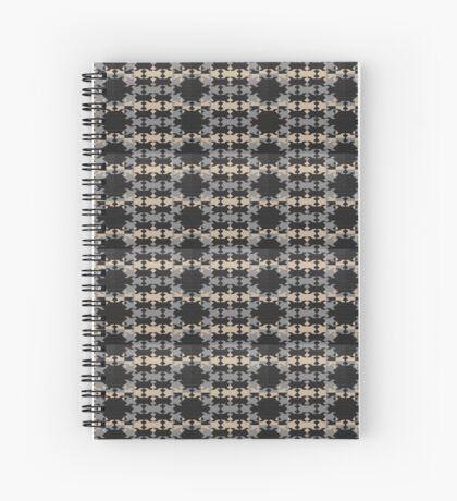 Masculine geometric print Spiral Notebook