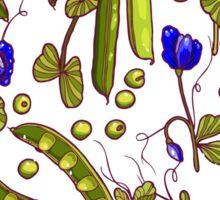 Pea garden Sticker