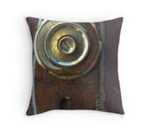 opening the past & present Throw Pillow