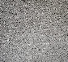 Uneven surface of the gray cement by vladromensky