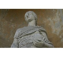 Statue at Stourhead Photographic Print