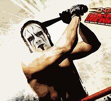 TNA Wrestling - Sting by JBPhotographs