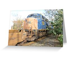 Freight Train part 2 Greeting Card