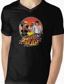 Sweep the Leg Mens V-Neck T-Shirt